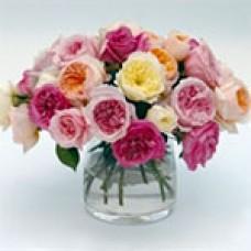 Mix of garden roses Микс из садовых роз